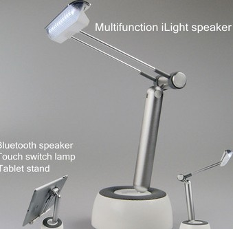 newest NFC speaker stereo bluetooth speaker led light function