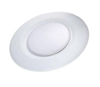 4 in. Recessed Soft White LED Can Disk Light