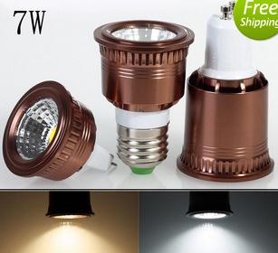 7W COB LED Spot Light Bulbs Lamp