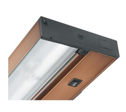 Brushed Bronze UnderCabinet LED Lighting with Dimming Capability