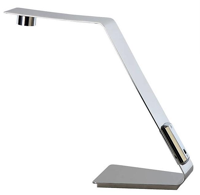 Edgy Rectangular LED Task Lamp