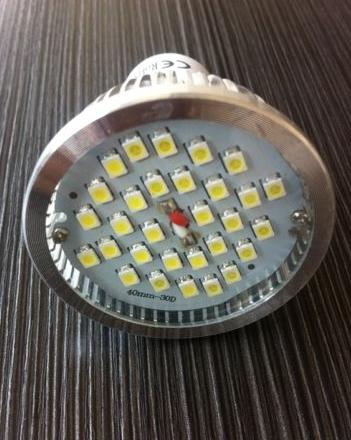GU10 30 SMD LED Natural White Downlight Spot Light