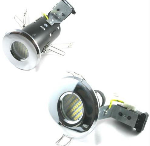 GU10 LED bathroom shower downlights