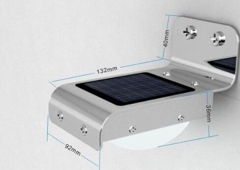 Waterproof Wireless Solar Motion LED Wall Lights
