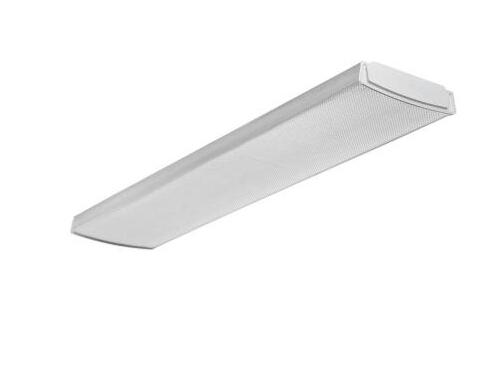 4 ft. Flush-Mount White LED Ceiling Light