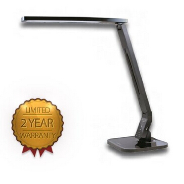 Natural Light LED Multi-function Desk Lamp Black