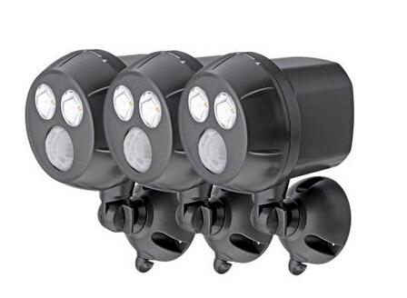 300 Lumen Outdoor Wireless Motion Sensing LED Spot Light