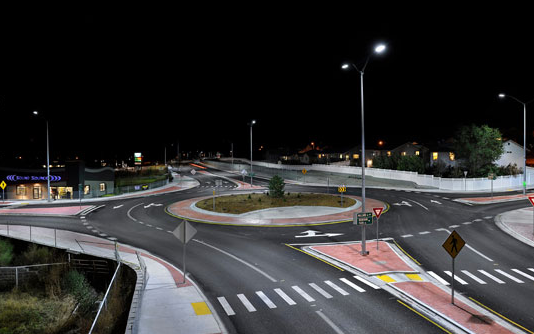 Breaking the traditional integrated LED street lighting modules