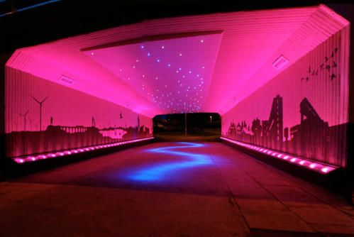 LED lights to create a dazzling