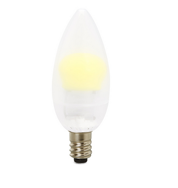 led Chandelier 3.2W E12 25W Replacement 2700K
