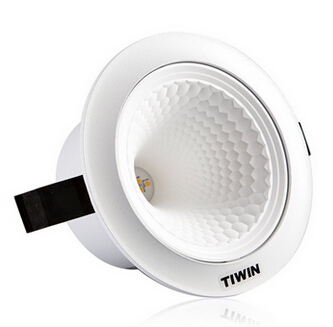 15w 6 inch wave warm white round recessed ceiling led downlight