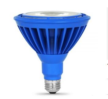16W Blue PAR38 E26 120V LED Bulb