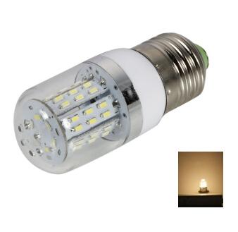 E27 4W Warm White 12-24V LED Corn light Bulb