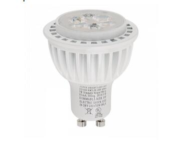 Dimmable GU10 LED Bulb 55W Equivalent