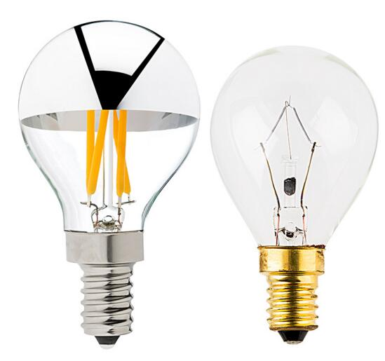 G14 Candelabra 3W Dimmable LED Filament Bulb