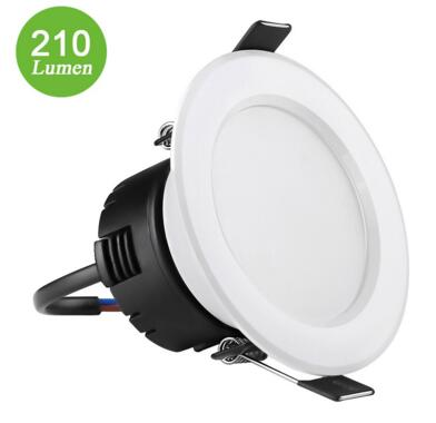 4W 3-Inch LED Recessed Ceiling Lights Daylight White
