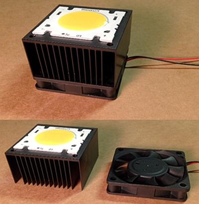 LED lighting poor heat dissipation