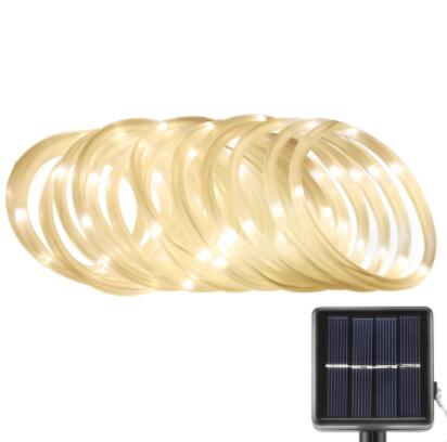 Outdoor Solar Rope Lights With Light Sensor