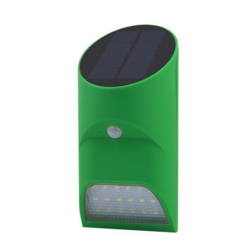 Solar Power Human Body Sensor LED Wall Light