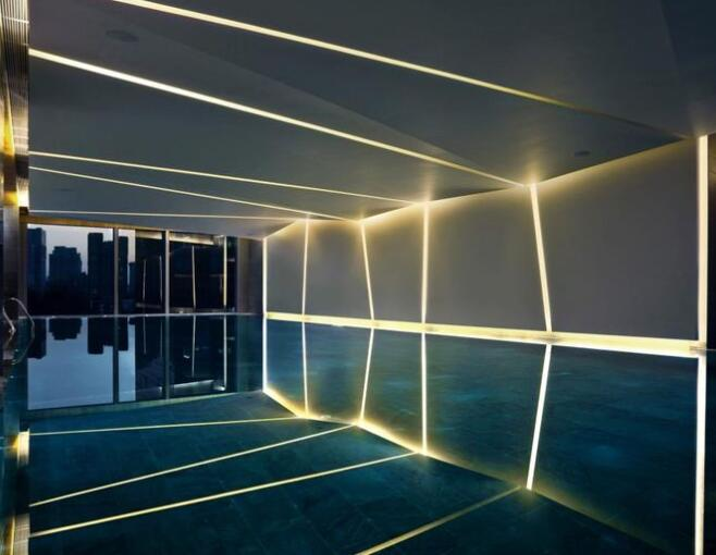 Which items of should be considered on pool lighting design