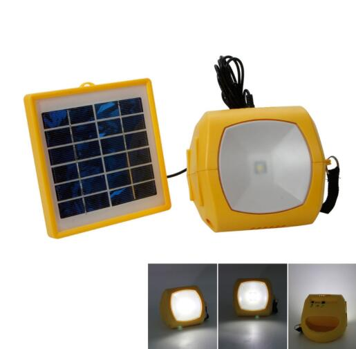 N710 1.5W Multifunctional High Brightness LED Light with FM Yellow