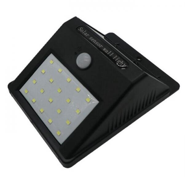 Solar Power Motion Sensor LED Courtyard Corridor Light