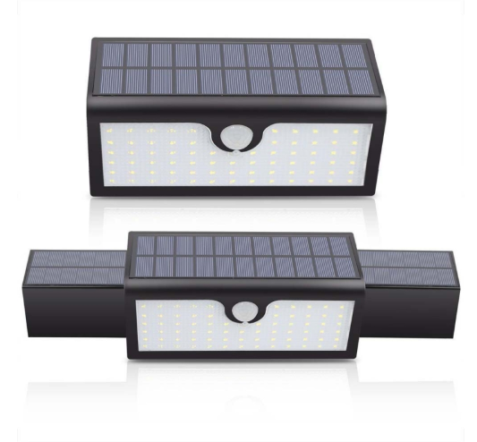 Solar Lights 71LED 3-in-1 Outdoor Security Wireless Motion Sensor LED Floodlight