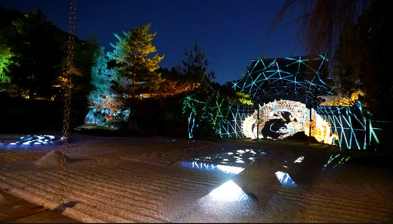 Roma creates the largest light show in Kyoto with unique LED technology