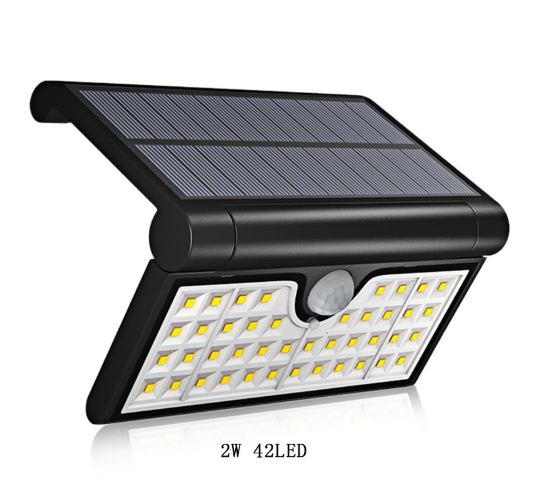 PIR Motion Sensor Solar LED Foldable Lamp