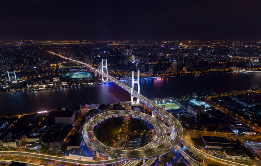 The second phase of landscape lighting on both sides of the Huangpu River will be implemented soon