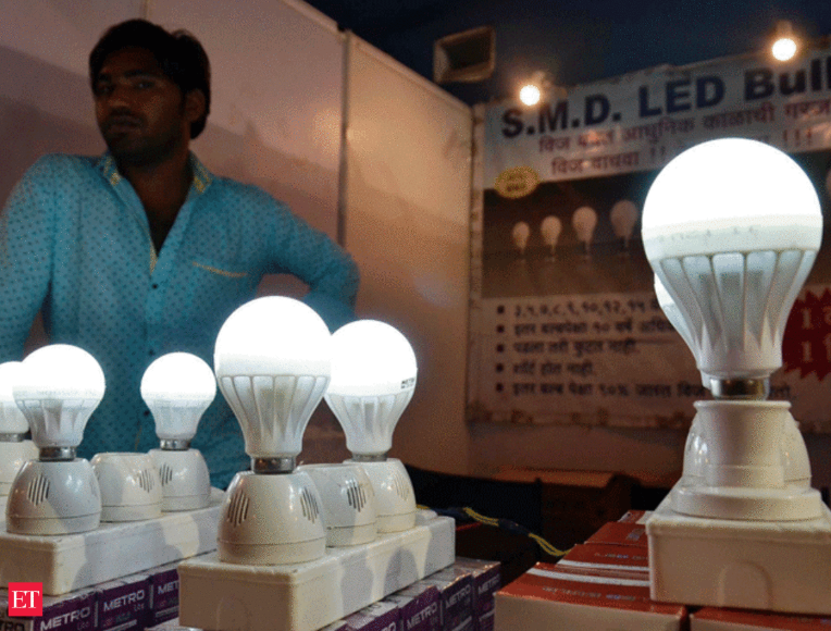 LED bulbs retail price declined in March