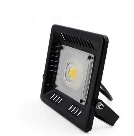 50W IP65 Anti-thunder Temperature Control Ultrathin LED Flood Light