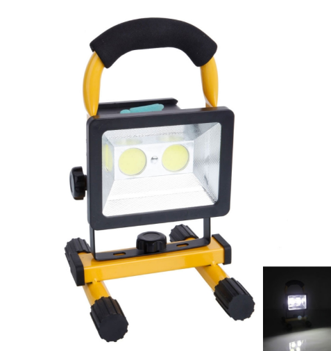 Rechargeable 30W COB LED Flood Light