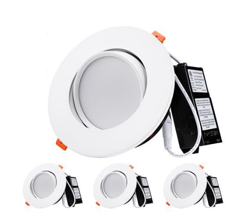 13.5W 6 Inch Gimbal LED Recessed Light