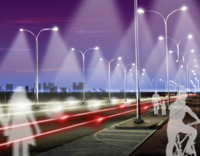 The smart upgrade of street lamps is an inevitable trend