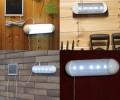 Outdoor 5-LED Split Type Solar Powered Garden Switch Light