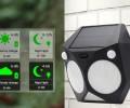 Waterproof Solar Power Wall Light