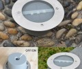 3-LED Outdoor Solar Power Floor Garden Light