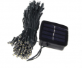 Solar Powered Holiday 6W 100-LED String Light