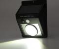 COB Solar Power Waterproof Motion Sensor LED Garden Wall Light