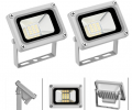 2pcs 10W Cool White 12V LED Floodlight