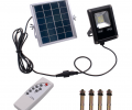 IP65 Waterproof 10W 4500LM Solar LED Floodlight