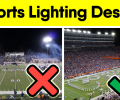 Professional football field lighting LED luminaire technical parameters