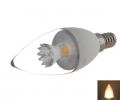 E14 C37 5W 400-420LM COB LED Candle Lamp