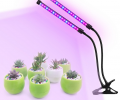 3 Head Divided Adjustable Clip-On Desk LED Grow Light