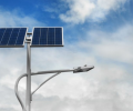 What scenarios are LED solar street lights suitable for?