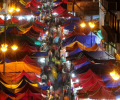 Festive lanterns light up Malacca Raya