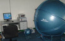 Integrating sphere and testing system