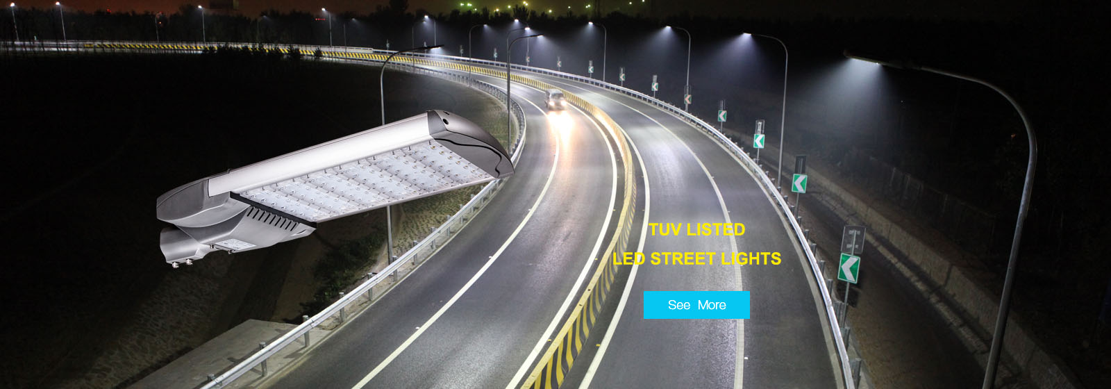 TUV Listed LED Street Lights