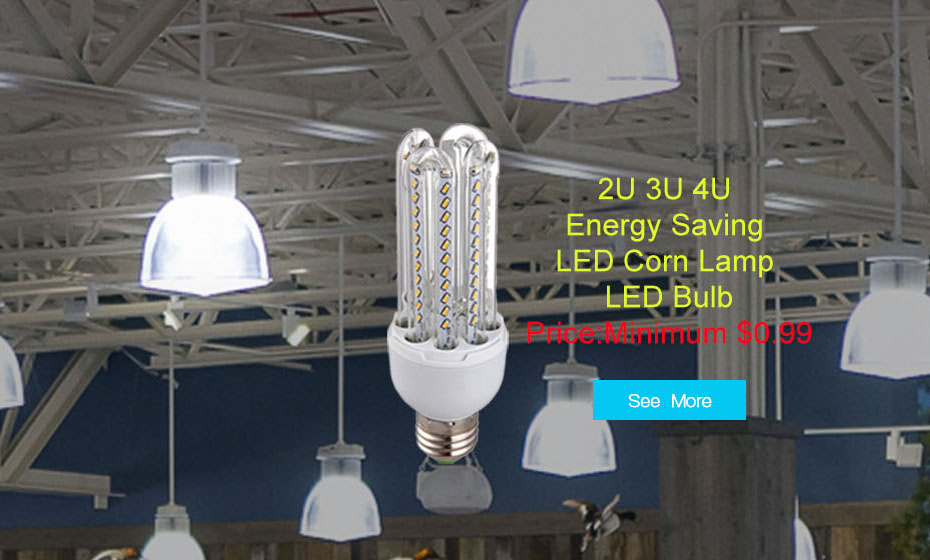 U-Shaped E27/B22 EPISTAR LED Corn Light